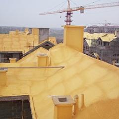 长春林溪二期屋顶 喷涂
